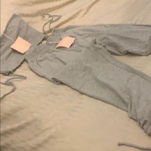 Kittenish Pants & Jumpsuits - Bnwt topanga gray top and bottom set